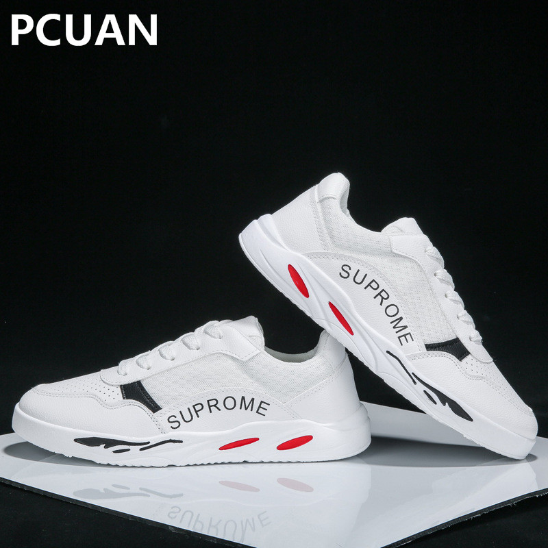 Summer and autumn men's sports shoes casual running tide shoes trend small white shoes men's breathable mesh shoes zeacava new summer breathable casual sports tide shoes men s shoes