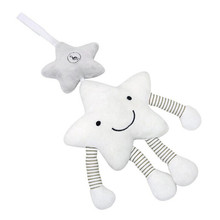 Baby Stroller Toys Musical Star Mobile Rattles Babies' Educational Plush Toy