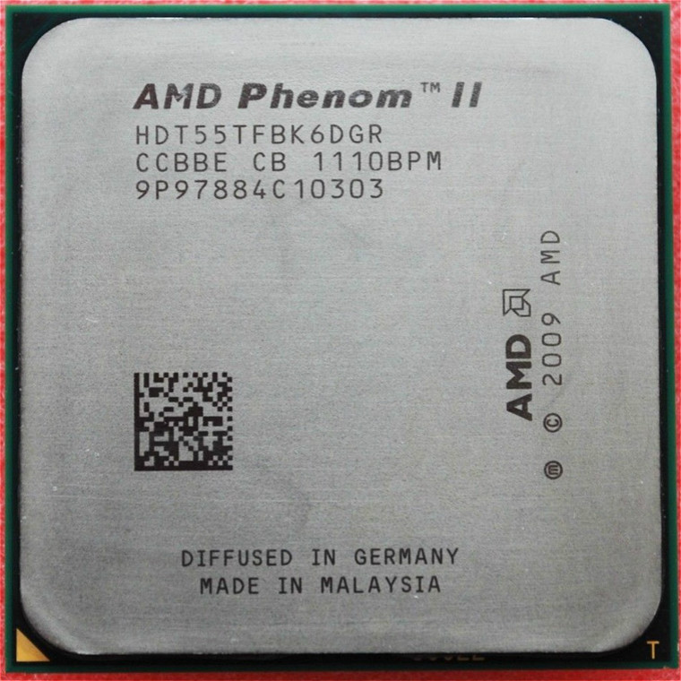 AMD Phenom II X6 1055 т 125 Вт Processor 2.8 ГГц AM3 938 шесть-Core 6 м рабочего процессора scrattered шт