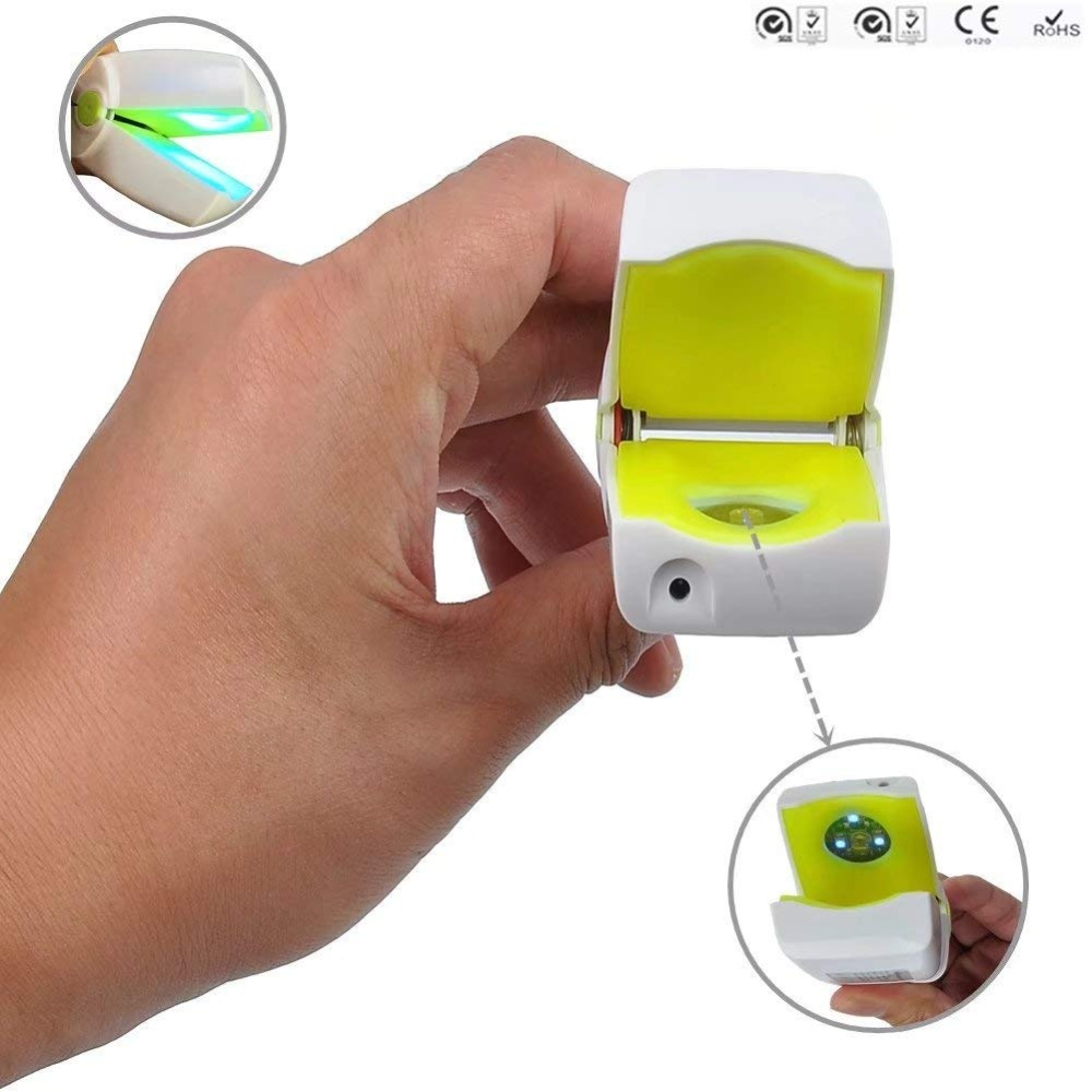 905nm <font><b>470nm</b></font> lllt cold laser therapy device soft laser therapy device for finger nails fungus treatment toe nails fungus removal image