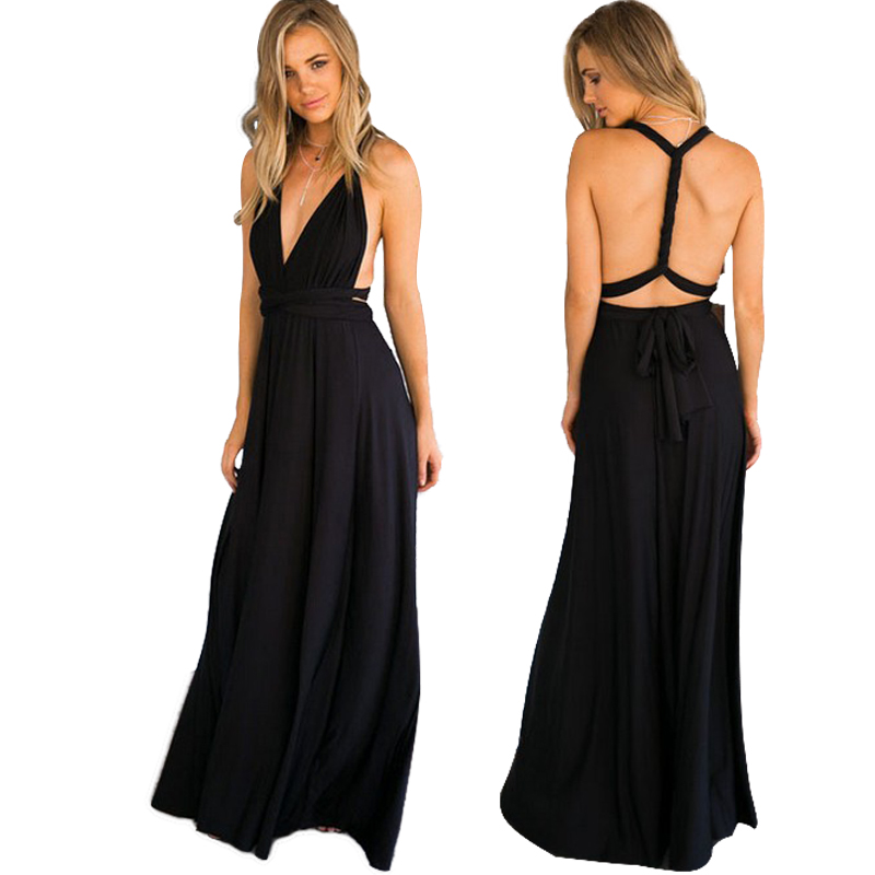 Dress Gowns Bridesmaid-Dress Spot Long-Sister Group of Temperament Many-Kinds