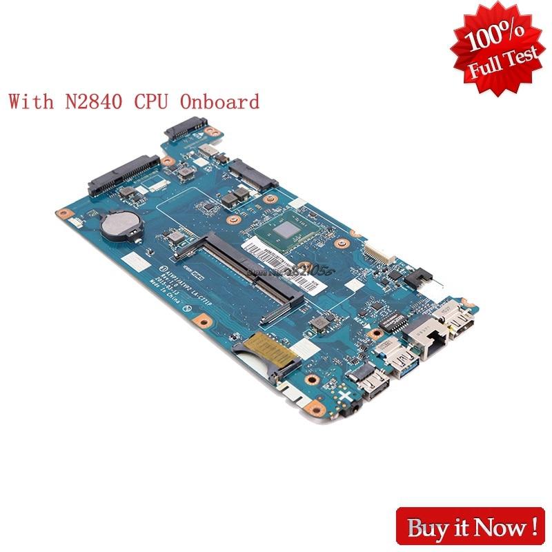 Nokotion LA-C771P PC Main board 5B20J30714 For Lenovo ideapad 100-15IBY AIVP1 AIVP2 With N2840 Processor Onboard стоимость