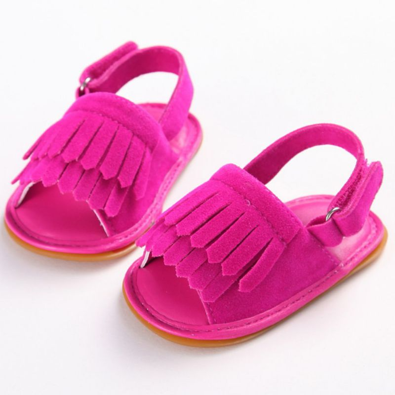 Hot-Sale-Baby-Sandals-Summer-Leisure-Fashion-Baby-Girls-Sandals-of-Children-PU-Tassel-Clogs-Shoes-7-Colors-2