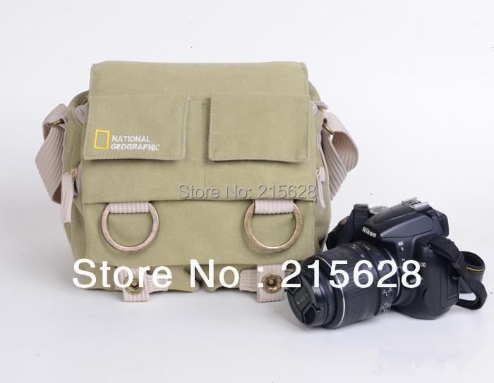 NATIONAL GEOGRAPHIC NG 2345 Professional DSLR камера Холщовая Сумка/чехол фото одного плеча рюкзак водостойкий для Nikon Canon