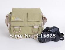 National Geographic NG 2345 Professional DSLR камеры холщовый мешок/случай фото одного плеча рюкзак водонепроницаемый для Nikon Canon