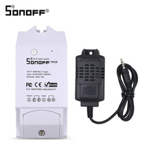 ITEAD Sonoff TH10 TH16 WIFI Switch si7021 Temperature Humidity Sensor Wifi Remote Control For