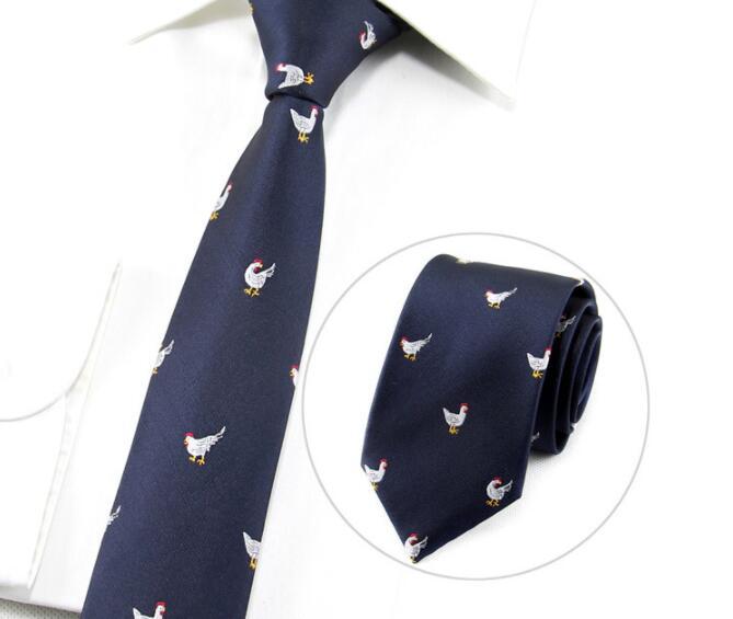 Fashion 7cm Business Necktie For Man Tie Bird Music Flower Feather Paisley Cock Animal Necktie Wedding Party Work Tie
