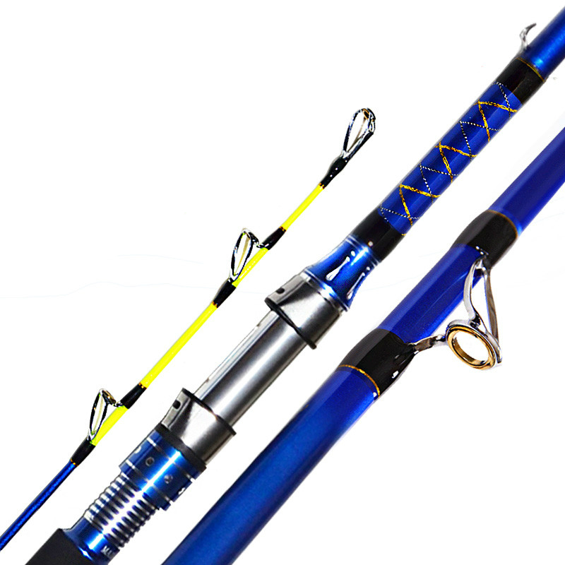 High Quality Lure Rod Boat/Raft Rod Fishing Rod Fishing Pole Titanium Alloy Reel Seat 1.8/2.1/2.4/2.7m Fishing Tackle 1 65m 1 8m high carbon jigging rod 150 250g boat trolling fishing rod big game rods full metal reel seat sic guides eva handle