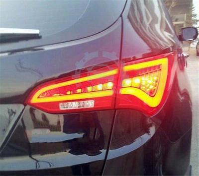 For HYUNDAI Santa Fe IX45 2013-2014 LED Taillights LED Rear Lamps Red