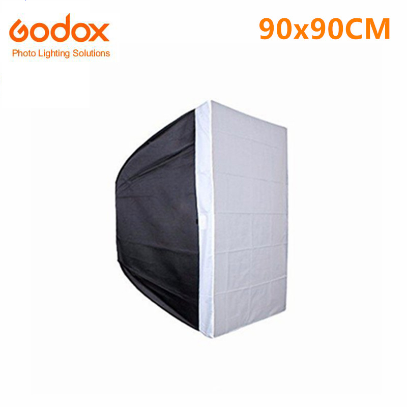 Godox SB-BW 90x90cm / 36x36 Bowens Mount Rectangular Portable Studio Strobe Softbox Diffuser for Studio Strobe Flash Speedlite