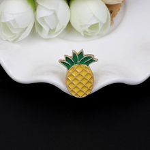дешево!  1 шт фрукты ананас серии капельного брошь воротник цветок корейской версии простой забавный  Лучший!
