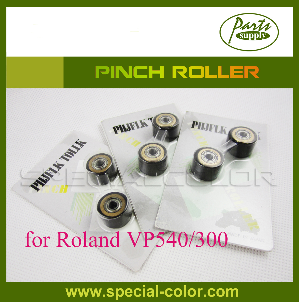 Inkjet Printer Pinch roller used for roland VP540/300 inkjet parts roland printer thk ssr 15xw model metal slider block for roland vp540i xj540 xj640 xj740 sj540 sj640 sj740 ra640