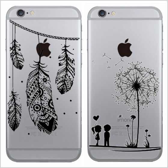 sale retailer fc2ff 4289d Wholesale 6/6s Dandelion Wind Chimes Color Drawing PC Mobile Case ...