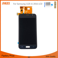 Can Adjust Brightness Phone Lcd For Samsung J120 J1 2016 LCD Screen Assembly Mobile Phone Display With Tools