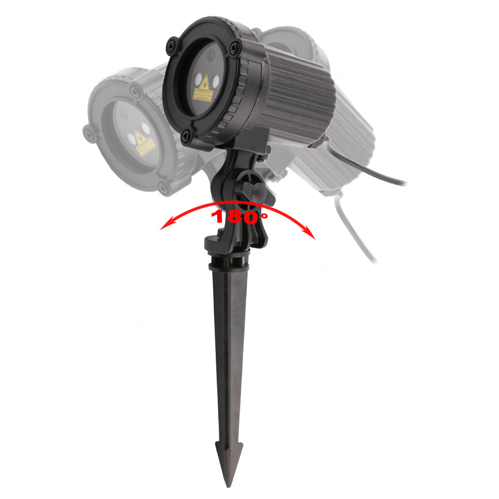 чужой Алан красный зеленый статический rods открытый водонепроницаемый звезда лазерный проектор сад элк праздник Hudson душ освещение