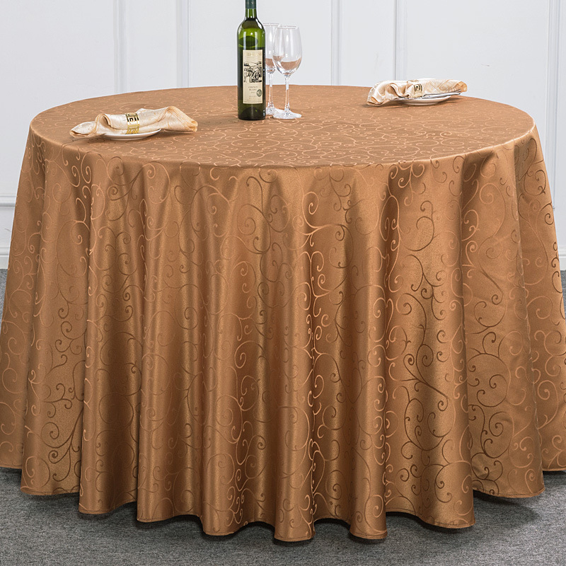 Lovely ROMORUS Polyester Round Table Cloths Wedding Tablecloths Dining Coffee Party  Hotel Solid Quality Table Cover Machine Washable In Tablecloths From Home  ...