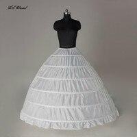 Hot Selling 6 Hoop Big Petticoat Free Shipping Puffy Women Underskirt Bridal Crinoline