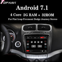 Topnavi 2Din Android 7.1 Car Radio 2G+32G 8.4'' Autoradio Player With GPS Navigation For Fiat Leap Freemont Dodge Journey Stereo