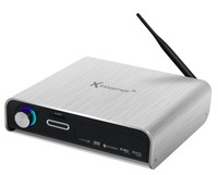 Xtreamer Prodigy Silver Realtek 1186 Media Player With 3 5 HDD Slot