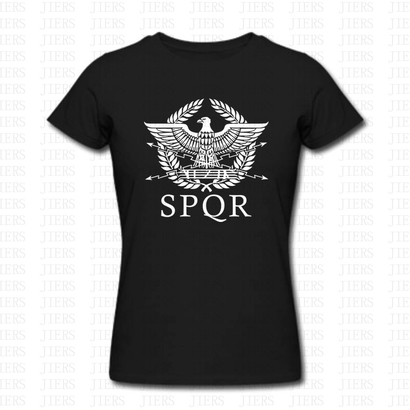 New Vintage SPQR Eagle Rome Latin Cool Retro T Shirt Size XS 2XL Men Women Brand Clothing Funny Short Sleeve O Neck Cotton Shirt in T Shirts from Men 39 s Clothing