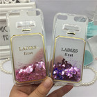 Glitter Quicksand Perfume Glass Phone Cases Cover for Apple iPod Touch 6 6th /5 5th Case Bling Girl Cute Soft Silicon Back Cover