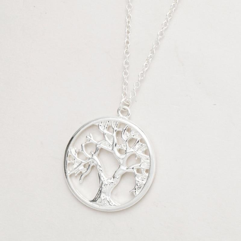 Yiustar Lebensbaum Form Einfache Halskette In Gold Großhandel Tiny - Modeschmuck - Foto 5