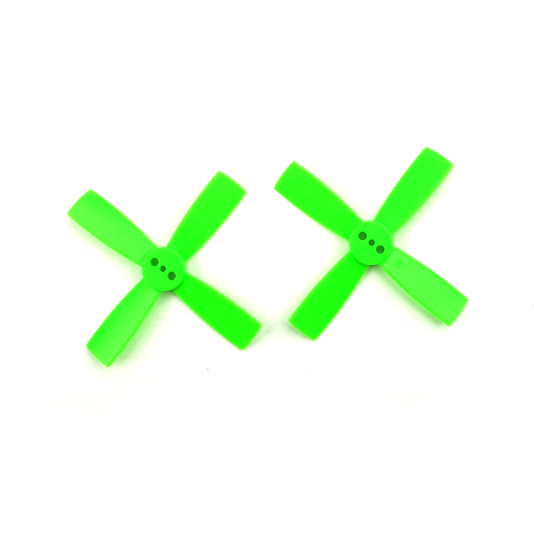 10 Pairs <font><b>2035</b></font> 2 Inch <font><b>Propeller</b></font> 50mm CW CCW Paddle 1.5mm Shaft Hole Nylon 4-paddle Props For DIY FPV Racing Drone Quadcopter image