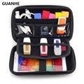 GUANHE 2,5 funda bolsa para disco duro externo/electrónica Cable organizador personalizado Cable bolsa/cámara/Mp5 HDD portátil caja/banco de potencia