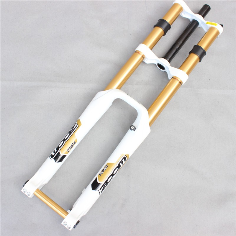 """NEW 26 /""""er Downhill DH Mountain MTB Bike Bicycle Fork Travel 180mm Axle 20mm"""