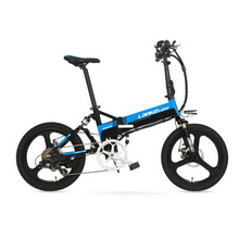 лучшая цена LOVELION tb311103-1/36V aluminum alloy before and after the shock absorber lithium battery bike 20-inch electric car  adult bike
