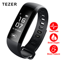 TEZER R5MAX bloeddruk hartslagmeter Bloed zuurstof 50 Brief bericht push grote smart Fitness Armband Horloge intelligente