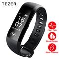 TEZER R5MAX heart rate monitor de presión arterial de oxígeno de La Sangre 50 Carta mensaje push grande De Fitness inteligente Reloj Pulsera inteligente