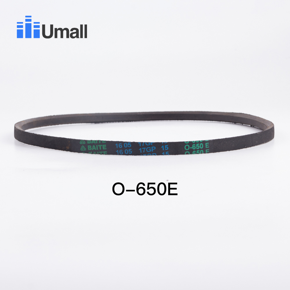 universal washing machine rubber drive belt O-650 washer motor rubber drive belt washer repair parts for laundry appliance parts