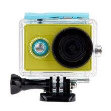 Orsda Waterproof Case For Xiaomi Yi 40M Underwater Diving Sports Waterproof Box For Xiaomi yi Action
