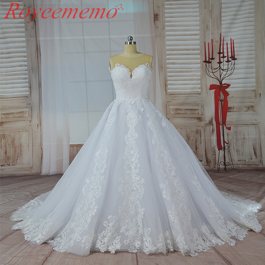 2017 hot sale skin color tulle top special lace design Wedding Dress factory made wholesale price wedding gown custom made dress