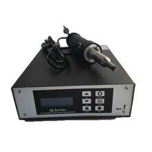 300 Вт 28 кГц ультразвуковой точечной сварки для HDPE PP PE ПВХ пластик сварочный аппарат