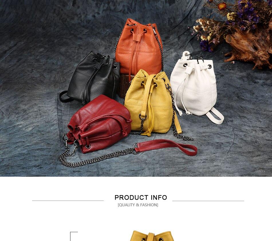 Mais recente moda balde saco de verão