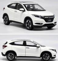 Оригинальный 1:18 Honda vezel внедорожник модели, Высокая Моделирование Коллекция Модель автомобиля, 6 открыть дверь автомобиля металла, бесплатн