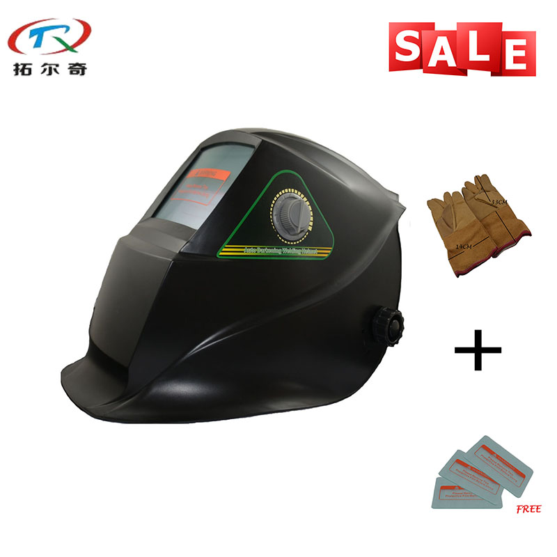 factory supply cheap lithium battery Helmets good quality Auto Darkening Welding Helmet TRQ GS01 2233FF YG|auto darkening welding helmet|welding helmet|darkening welding helmet - title=