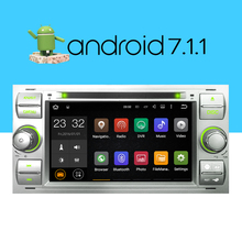 A-Sure Android7.1 2 Din 7 Inch Car DVD Player For Ford/Focus/Mondeo/Transit/S C-MAX/Fiest With GPS Navigation Radio BT WIFI DAB+