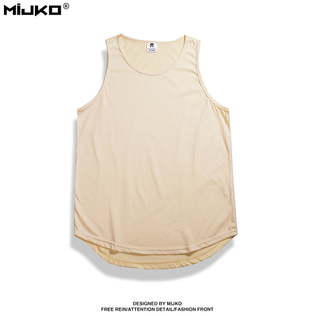 Tank Top Men Hip Hop Extend...