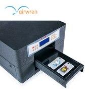 Заводская цена УФ принтер Китай мини планшет печатная машина для кожи Пластик карты древесины