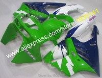Sıcak Satış, Kawasaki NINJA ABS Grenaj seti ZX9R 94 95 96 97 ZX-9R Cowling plastik ZX 9R 1994 1995 1996 1997 Motosiklet kaporta