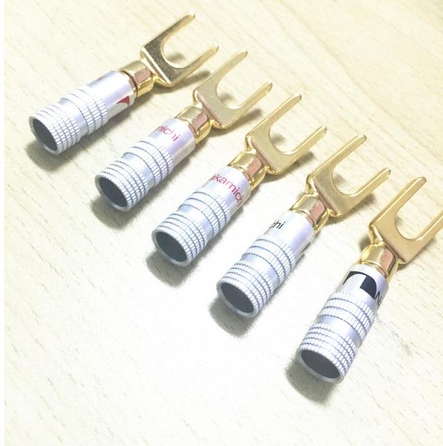 Funky Speaker Wire Plugs Connectors Y Photos - Schematic Diagram ...