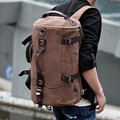 Mens Backpack 15 Inch British Men's Canvas Backpacks Bags Male Travel Bosla High Capacity Computer Package