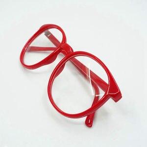 Красные круглые очки Kyoukai no Kanata Kuriyama Mirai, аксессуары для косплея с линзами