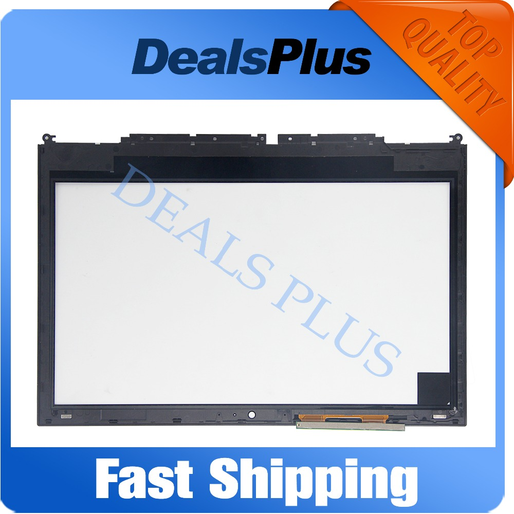 Replacement New Touch Screen Digitizer with Frame For Toshiba Satellite Radius E45W-C4200X C-Series 14-inch Black for new touch screen digitizer glass replacement toshiba satellite p55t p50t s50t m50t 15 6 inch black free shipping