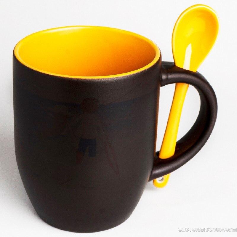 spsco 11oz inside colored heat color changing coffee mug magic cup