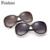 Feishini estrela do vintage óculos de sol das mulheres designer de marca polarizada 2017 uvb óculos hd original fox cabeça com pérola luxo oval