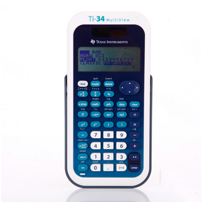 2018 One Piece Texas Instruments TI 34 Multiview student test exam dedicated scientific calculator multiview advanced scientific calculator calculating instruments for students office xxm8